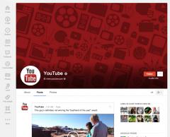 Google Plus : une refonte graphique pour les profils et les pages
