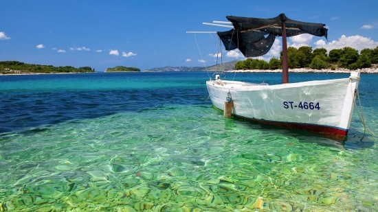 fond d'ecran gratuit mer et bateau