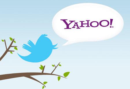 Yahoo  intègre Twitter résultats pourrait racheter Tumblr