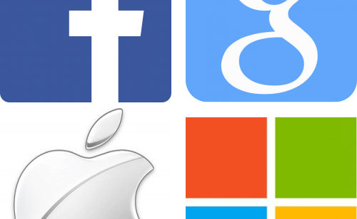 résultats trimestriels Facebook  Google  Apple Microsoft