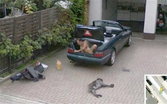 extraterrestre google street view