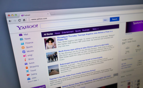 Yahoo dépasse Google trafic Etats-Unis