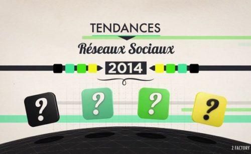 Réseaux sociaux   quelles tendances 2014
