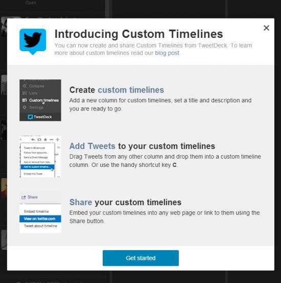 Twitter lance les Timelines personnalisables