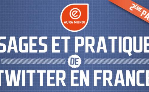 Profil usages utilisateurs Twitter France