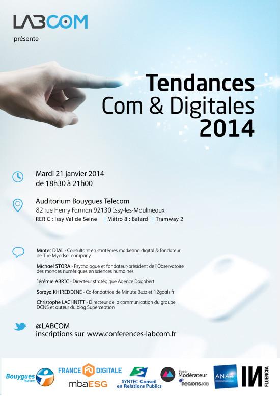 Tendances com et digitales 2014 - LabCom