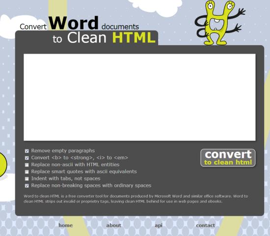 word-html