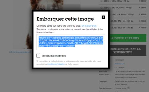 Getty Images permet l'utilisation gratuite 35 millions d'images