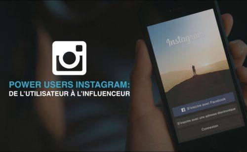 Étude   utilisateurs  influenceurs marques Instagram