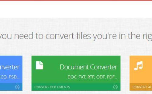 Convertir gratuitement document  image fichier audio iLoveFile