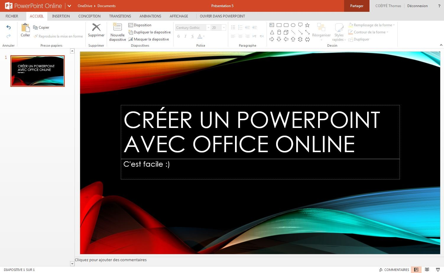 office online microsoft word excel et powerpoint disponibles