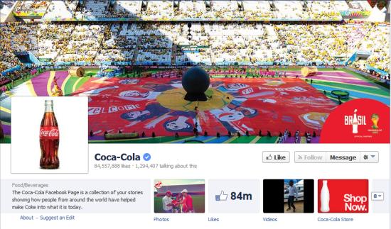 coca facebook