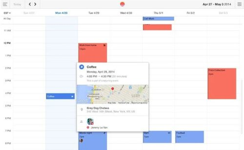 Réunir calendriers Google  Facebook iCloud Sunrise Calendar