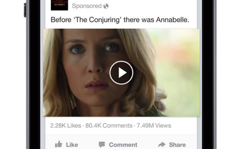 Vidéos Facebook   compteur vues quelques chiffres clés
