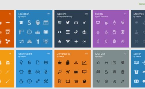 Flaticon  plus 50 000 icônes libres droits
