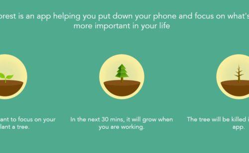 Accro smartphone   Forest est là désintoxiquer