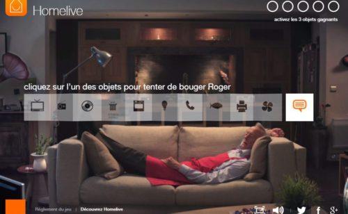 Interview   #BougezRoger  campagne communication d'Homelive Orange