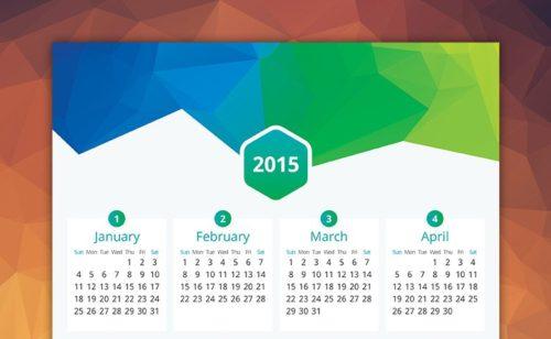Créer calendrier 2015 imprimer gratuitement