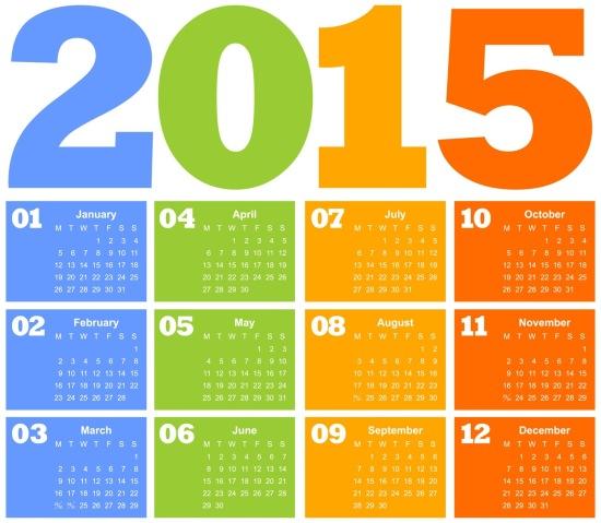 calendrier-2015-couleurs-bleu-vert-jaune-orange