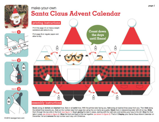 calendrier-avent-papertoy