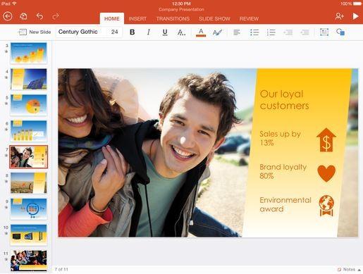 Microsoft Word, Excel et PowerPoint deviennent gratuits sur iOS et Android !