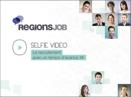 selfie vid u00e9o   regionsjob innove dans le recrutement des