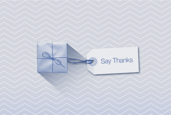 say thanks 1