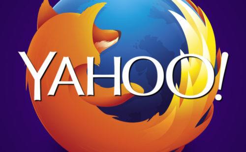 Yahoo  remplace Google comme moteur recherche défaut Firefox