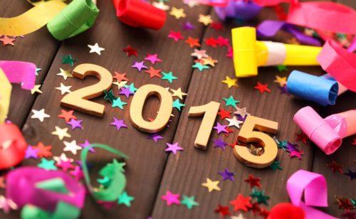 15 fonds d'écran souhaiter bonne année 2015
