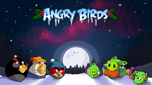 Les fonds d 39 cran de no l 2014 blog du mod rateur - Angry birds noel ...
