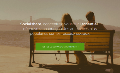 Test   Socialshare  outil veille d'analyse community managers