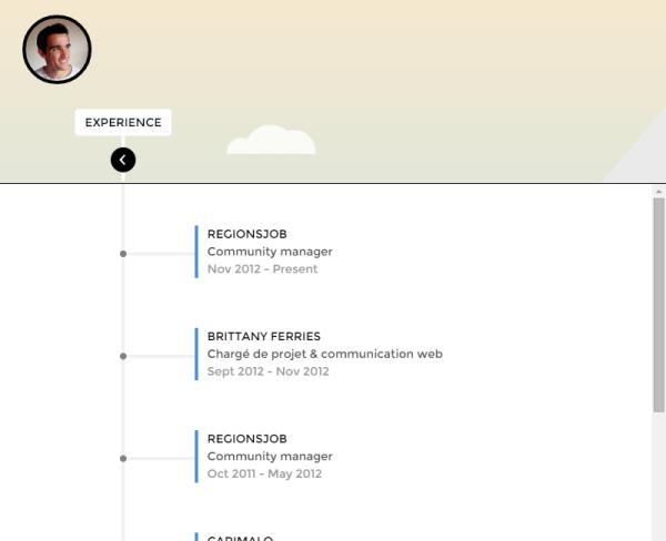 g u00e9n u00e9rer un cv interactif sur slideshare  u00e0 partir de son profil linkedin