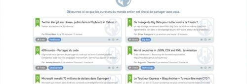 elCurator  outil veille collaborative partager infos entreprise