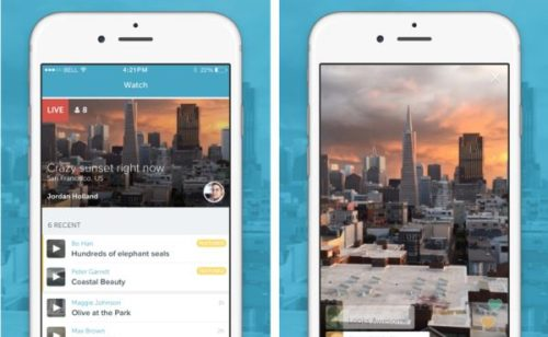 Twitter lance Periscope  nouvelle application live vidéo
