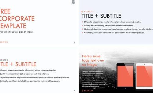 4 modèles PowerPoint totalement gratuits