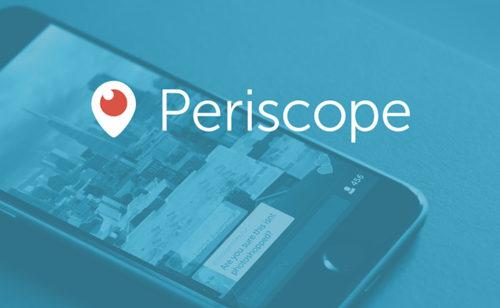 Déploiement généralisé Periscope Producer diffuser direct vidéos haute qualité