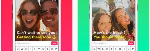Yahoo LiveText   l'application messagerie étrange mélange vidéo  texte emojis
