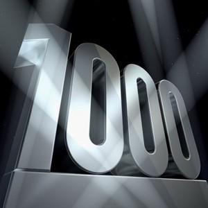 1 000 caractères