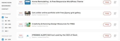 Deals Killer   outils ressources moindre coût professionnels web