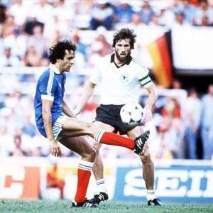 France - Allemagne, 1982