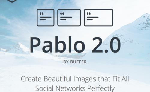 Pablo 2.0  l'outil idéal créer images Facebook  Twitter  Instagram Pinterest