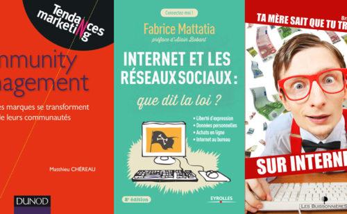 Concours   5 livres gagner médias sociaux  droit l'Internet l'entrepreneuriat