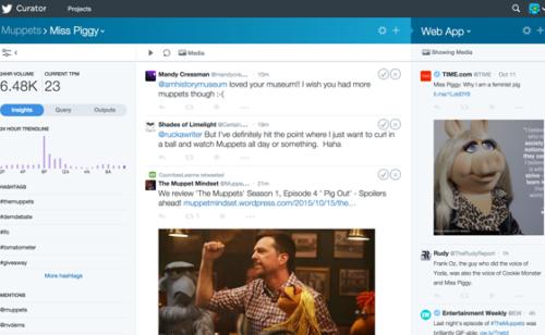 Nouveautés Twitter   Curator tous  Twitter Publish  refonte l'appli Mac  nouvelles APIs…
