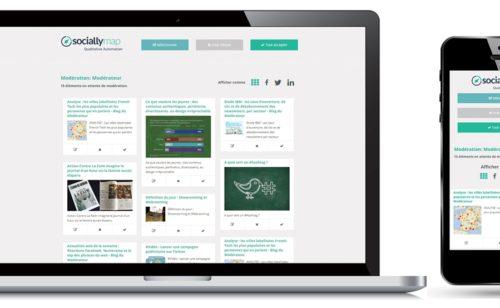Animation réseaux sociaux   Sociallymap améliore outil modération
