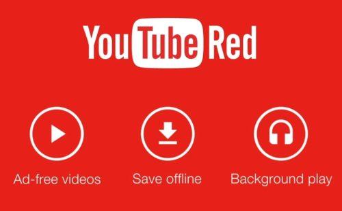 YouTube Red   aucune publicité contenus exclusifs (10 dollars mois)