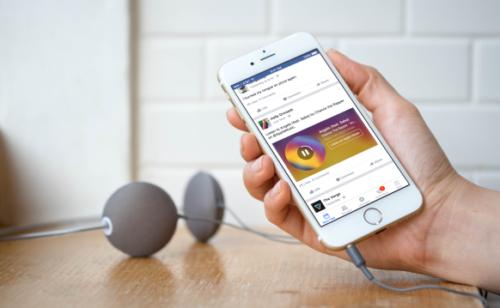Facebook   intégration optimisée contenus Spotify Apple Music