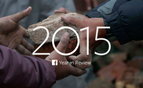 bilan l'année 2015 Facebook France monde