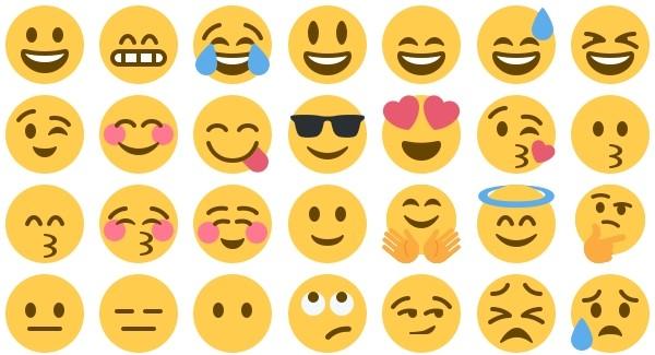 de nouveaux emojis sur twitter dont la licorne le doigt
