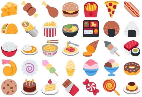 emojis-nourriture