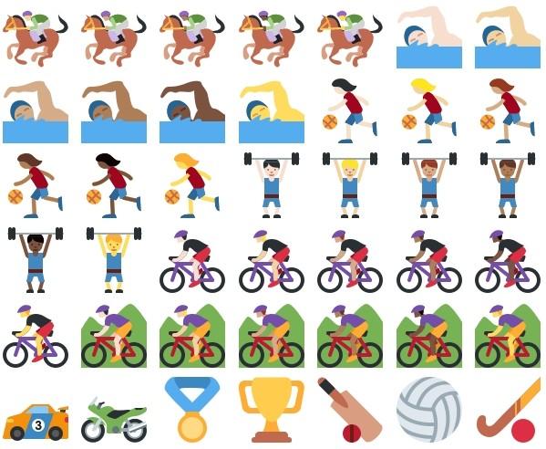 emojis-sport